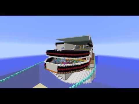 redstone kreuzfahrtschiff folge 49 coole t ren sind schwerer zu bauen youtube. Black Bedroom Furniture Sets. Home Design Ideas