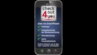 checkout4you - Auschecken via Smartphone
