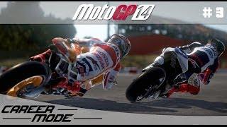 MotoGP 14 Gameplay Career Mode Walkthrough - Part 3 Moto 3 Qatar Grand Prix