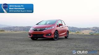 Best Hatchback: 2018 Honda Fit - AutoWeb Buyer's Choice Award Winner