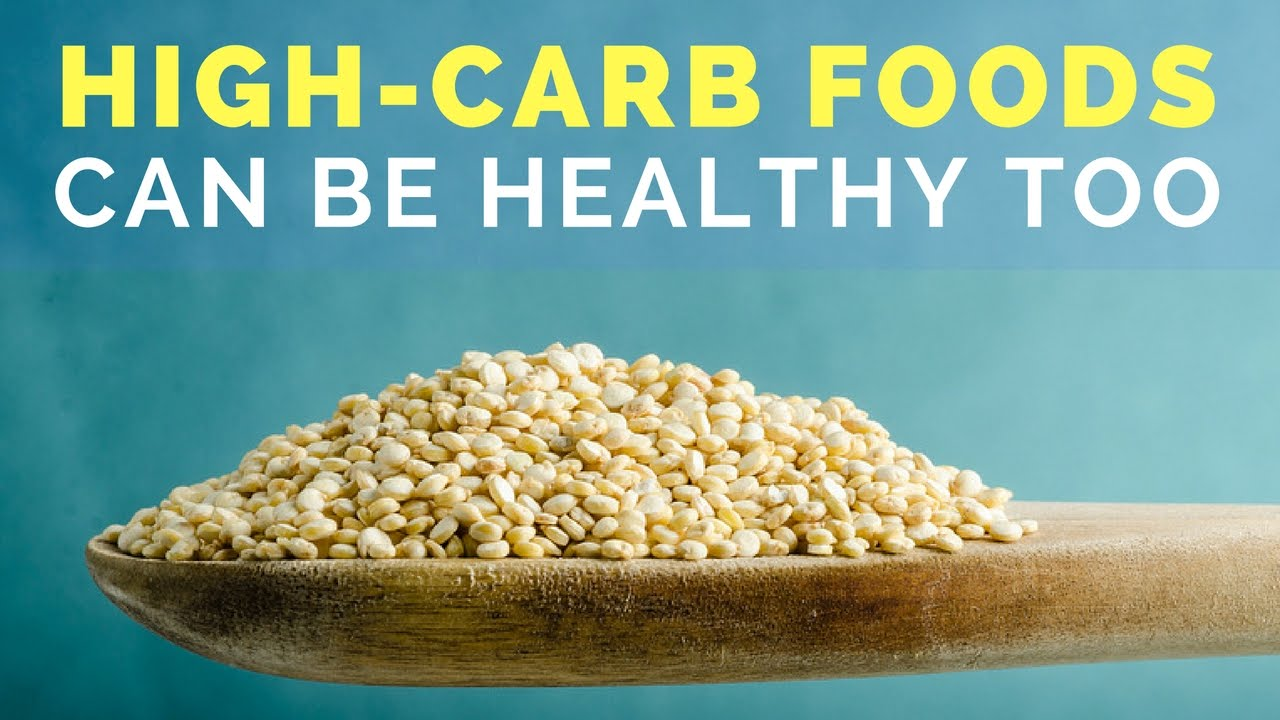4 High Carb Foods That Are Actually Super Healthy Youtube