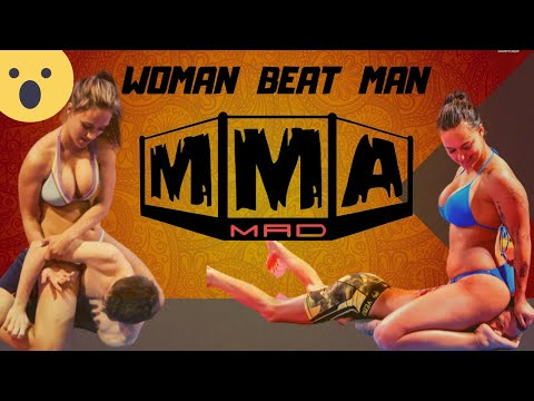 Marine Corp vs Woman Fighter  fight in MMA | Can woman beat Marine Corp in MMA| Historical MMA Fight