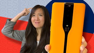 OnePlus One concept phone hands-on: your cameras disappear!!