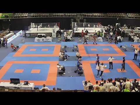 WAKO European Kickboxing Championship Children, Cadets & Juniors 2019 - Day 4 - Tatami 1-4