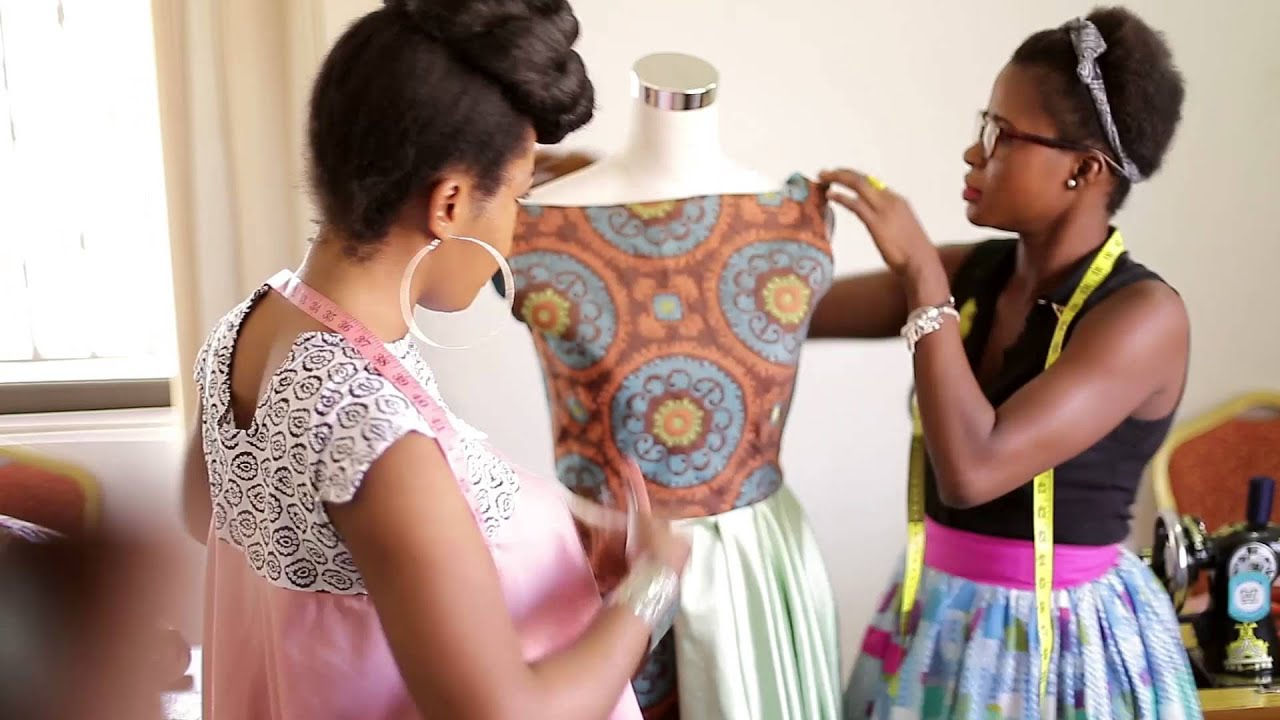 59bb4b3e6608 All About Afra K Fashion School - YouTube