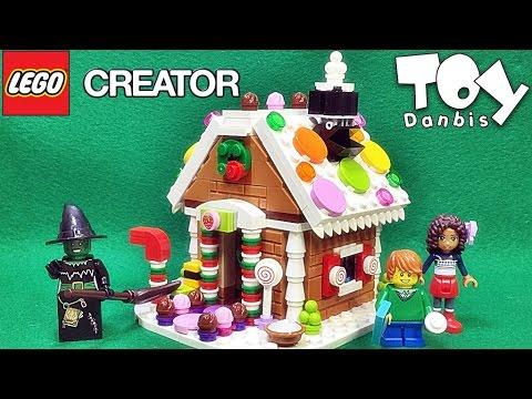 레고 진저브레드 하우스 40139 동화속 과자집 한정판 프로모션 조립 리뷰 Lego Seasonal Gingerbread House