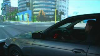 125 mph, Standing Still: Tag Systems TS8000 Real Car Simulator