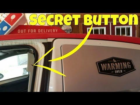 HIDDEN Buttons In a Stripped Domino's Pizza DXP Car *TOP SECRET*