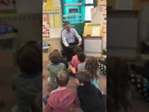 Principal For A Day at Las Flores Elementary School