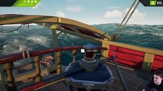 Ciężkie zycie pirata - Sea of Thieves / 08.01.2019 (#5)