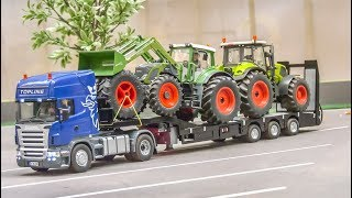 AWESOME RC farming! Tractors! Trucks! Equipment in 1/32 scale!