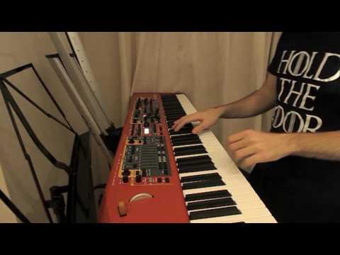 24K Magic - Bruno Mars [Keyboard synth cover] Nord