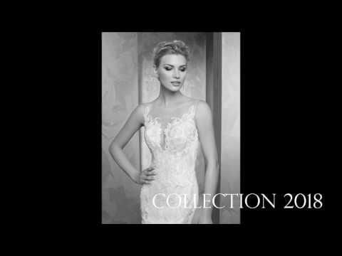 the best attitude 19c21 e5abb Shooting Sposa 2018 Radiosa Celeste by Gielle Fashion - YouTube