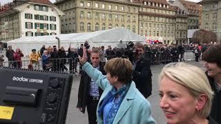 Die Schweiz empfängt Bundesrätin Viola Amherd