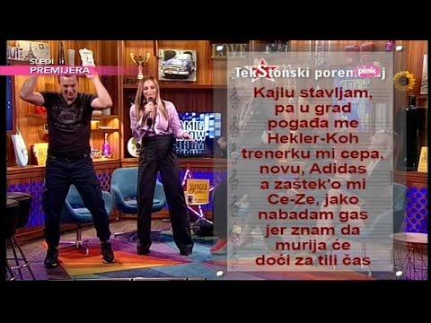TekStonski poremecaj - Anabela i Gagi Funky G - Samo u snu (Ami G Show S09)