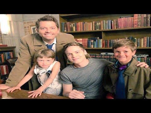 Misha Collins ly Adopts Alexander Calvert