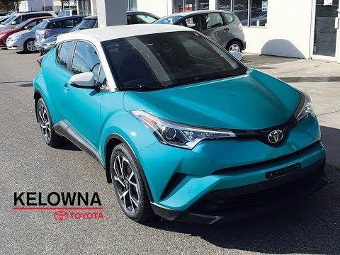 2018 Toyota C-HR Radiant Green Mica