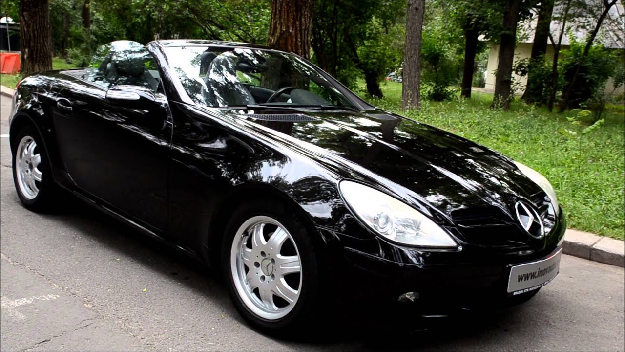 mb slk 200 kompressor 163cp 2006 inovauto youtube. Black Bedroom Furniture Sets. Home Design Ideas