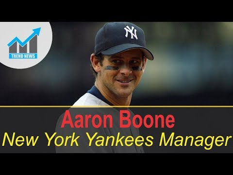 ESPN Analyst Aaron Boone Set To Be New York Yankees Manager