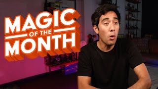 Zach King Reacts to Your Magic | MAGIC OF THE MONTH - November 2019