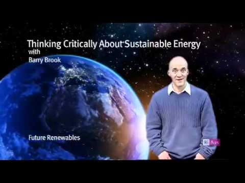 Thinking critically about sustainable energy - Future Renewables
