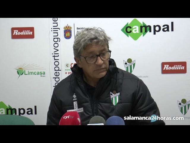 Rueda de prensa tras el Guijuelo - Boiro