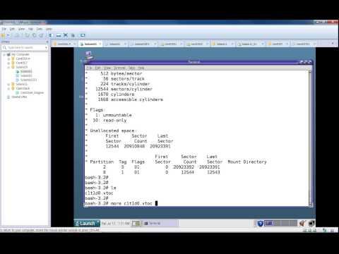 Solaris10 Local Disk Partitioning