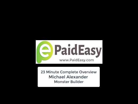 Audio   23 Minute Complete Overview   Michael Alexander