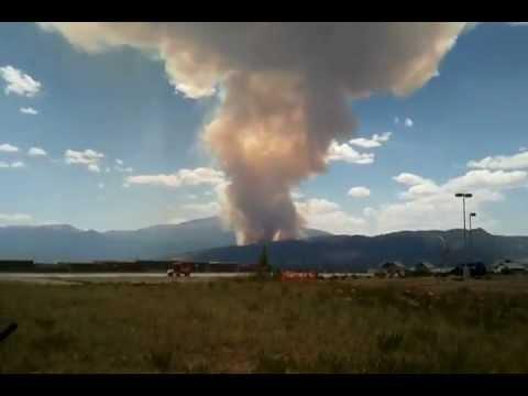 Waldo Canyon Fire - Colorado Springs - 23 June 2012