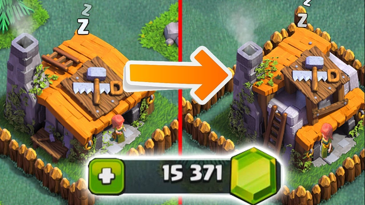 Clash Of Clans Builders House Level