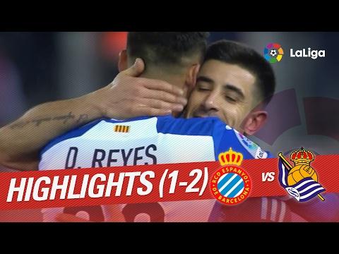Resumen de RCD Espanyol vs Real Sociedad (1-2)
