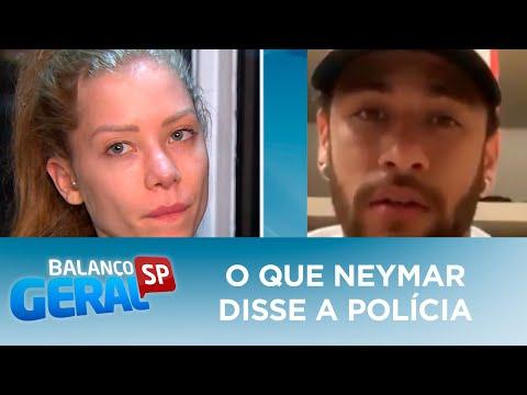 Saiba o que Neymar disse em depoimento para a polícia