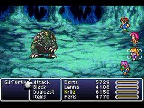 Final Fantasy 5 V Easy Experience World 2 Easiest Leveling Exp