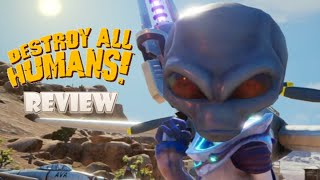 Destroy All Humans (Switch) Review (Video Game Video Review)