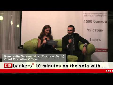 Kote Sulamanidze, CEO, Progress Bank
