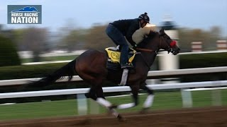 Nyquist Workout - Kentucky Derby 2016 - Interview with Trainer Doug O'Neill