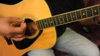 Yamaha FG-301B Snowflakes Rosewood Handmade Acoustic Guitar Vintage