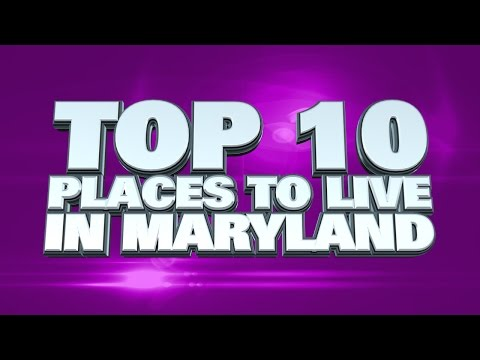 10 best places to live in Maryland 2014