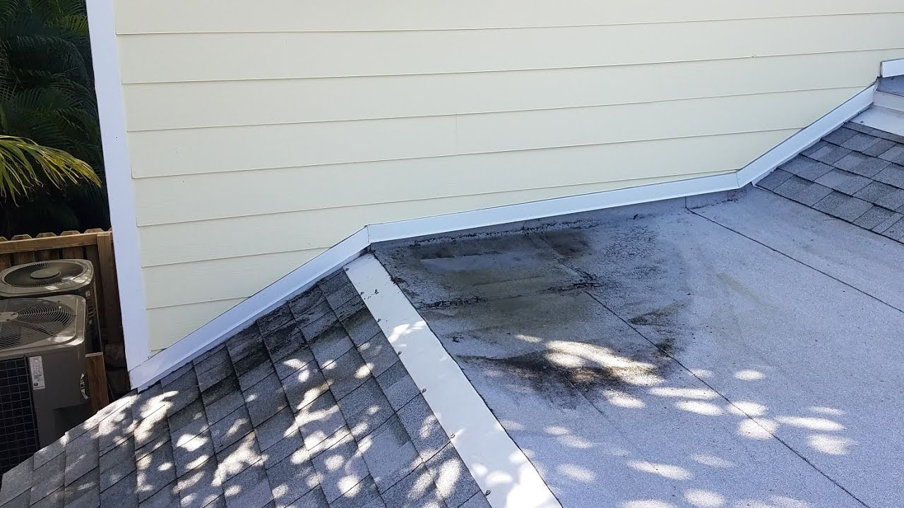 Ponding Water On Flat Roof Build Up With Cold Process