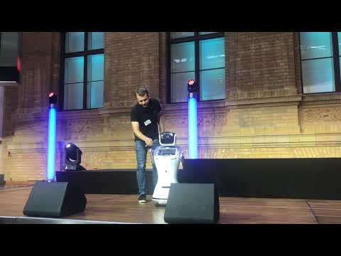 Robotic Startup Pitch for GESTALT Robotics at StartupNight in Berlin
