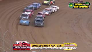 VMS REWIND - Collision One Limited Stock Car Feature 071319