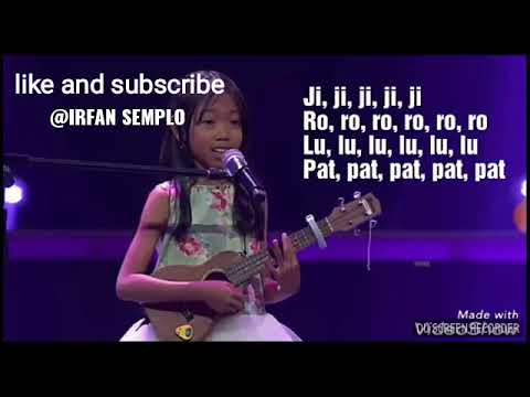 fany voice kids indonesia DO RE MI bahasa jawa