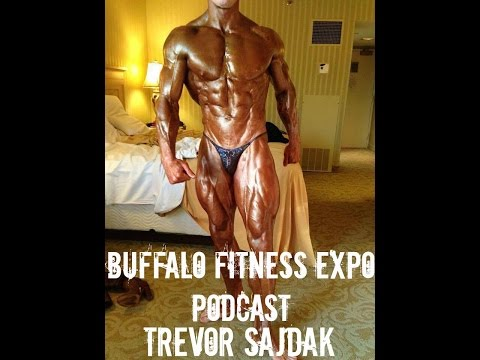 Buffalo Fitness Expo Podcast - Natural Pro Trevor Sajdak