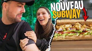 On goûte en avant première le nouveau Sandwich de Subway avec Pidi !