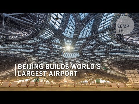 Beijing is building the world's largest airport