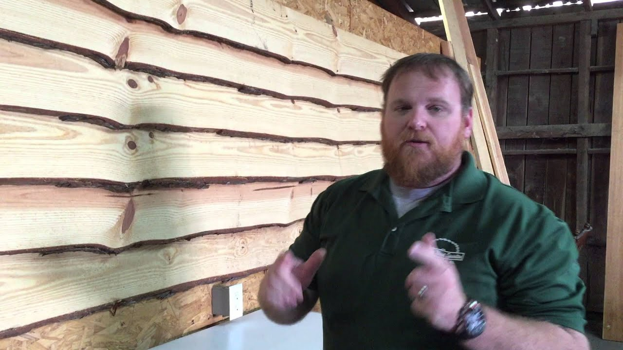 Go Rustic With Wavy Pine Siding Youtube