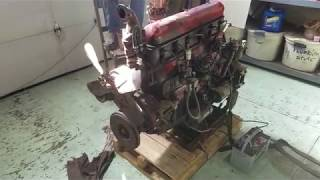 503 Cubic Inch GMC Inline Six Startup - YouTube
