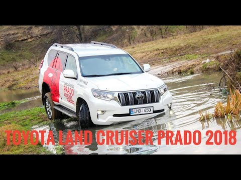 Test Drive Toyota Land Cruiser Prado Facelift 2018