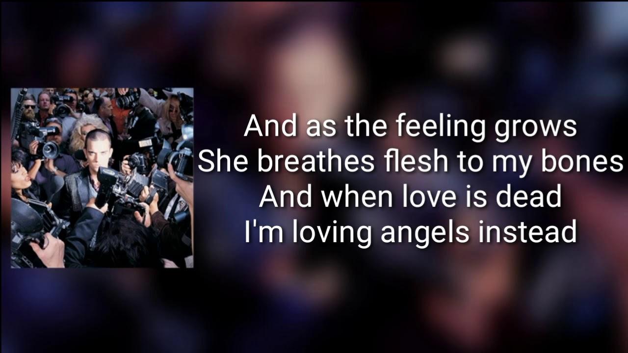 Robbie Williams - Angels (Lyrics) - YouTube