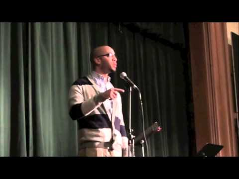 """""""Perspective"""" by Clint Smith at the 2013 Paul K. Bergan Poetry Festival"""